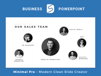 Minimal Pro - Presentation Template Slide Design Builder