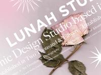 Lunch Studio Poster Design