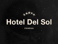 Concept Logo for Hotel del Sol