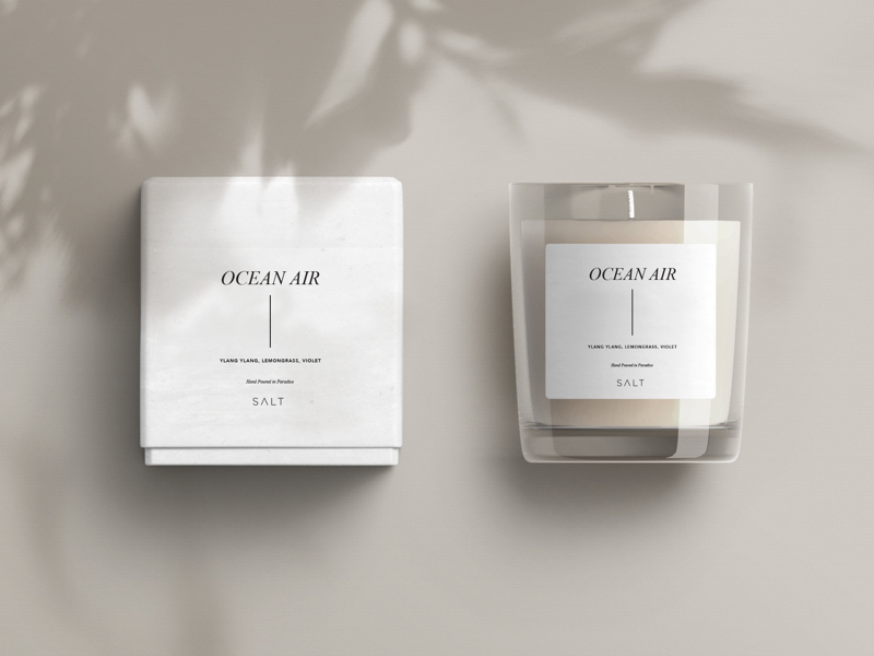 Candle Label | Salt Store