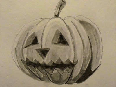 Happy Halloween!!! halloween pencil josephmanning illustration illustrating drawing sketching freelance designer