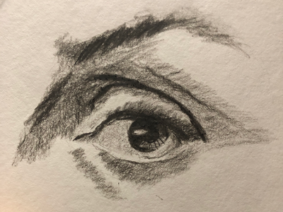 Eye charcoaldrawing eyes charcoal josephmanning illustration illustrating drawing sketching freelance illustrator