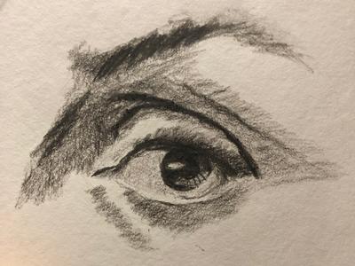 Eye charcoaldrawing eyes charcoal josephmanning illustration illustrating drawing sketching freelance illustrator