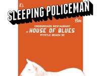 Sleeping Policeman Poster