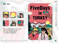 thirteen days in TURKEY