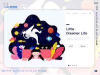 little dreamer!