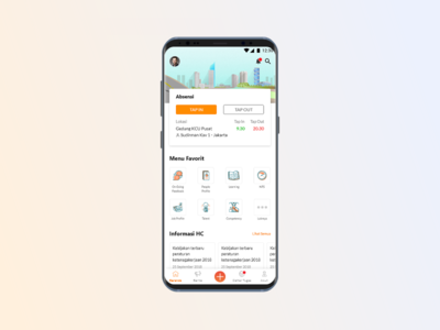 Company Human Capital / HR Mobile App