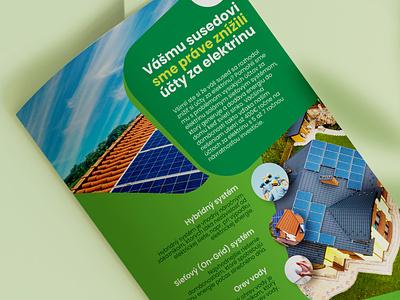 Letter for solar company dtp design letter