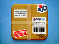 Package iOS Icon Concept - PopUp