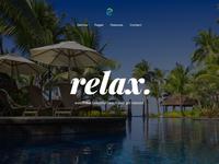 Relax web app