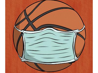 NBA Suspension sports design adobe illustrator design illustration