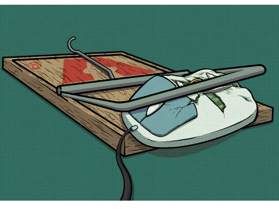 Mousetrap advertising illustration procreate comedy adobe photoshop adobe illustrator design illustration
