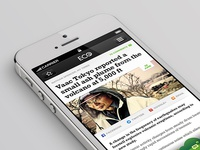 Environment News App