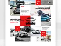 Toyota Homepage #2