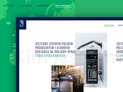 Ciech - Horizontal Website
