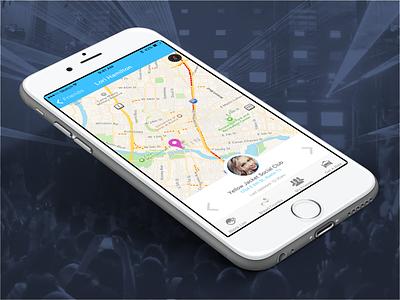 Friend Finder App ios9 sketch friend finder friend mobile app iphone ios