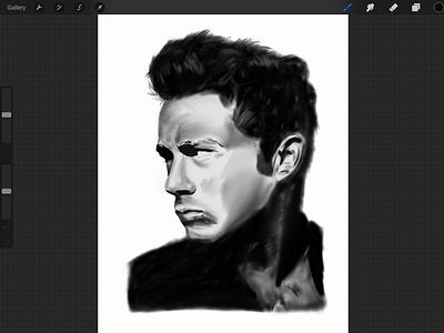 Sketching in Procreate pencil black  white drawing sketching apple pencil ipad pro procreate