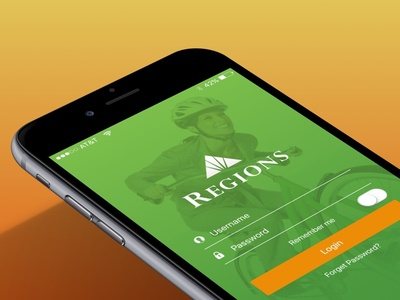 Regions Banking App mobile banking banking apple ios9 sketch bank regions mobile app iphone ios