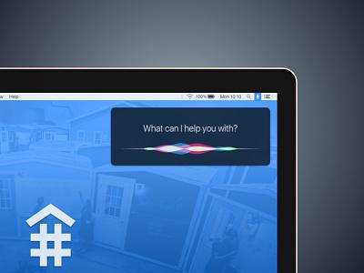 Siri for MacOS  question voice interface ui developertown macbookpro desktop apple macos osx siri