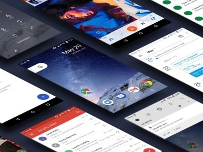 Android O UI Kit for Sketch android o kit ui mobile freebie sketch android