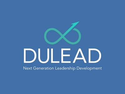 Dulead Logo program development leadership branding logo