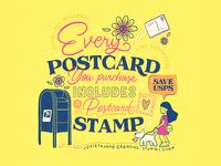 #SAVEUSPS! procreateapp designer design smallbusiness lettering art lettering illustration art illustrator illustration