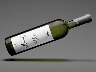 Wine Bottle 2   3D modeling & texturing 3d artist bottle packaging design product product design rendering render 3d models 3d modelling 3dsmax