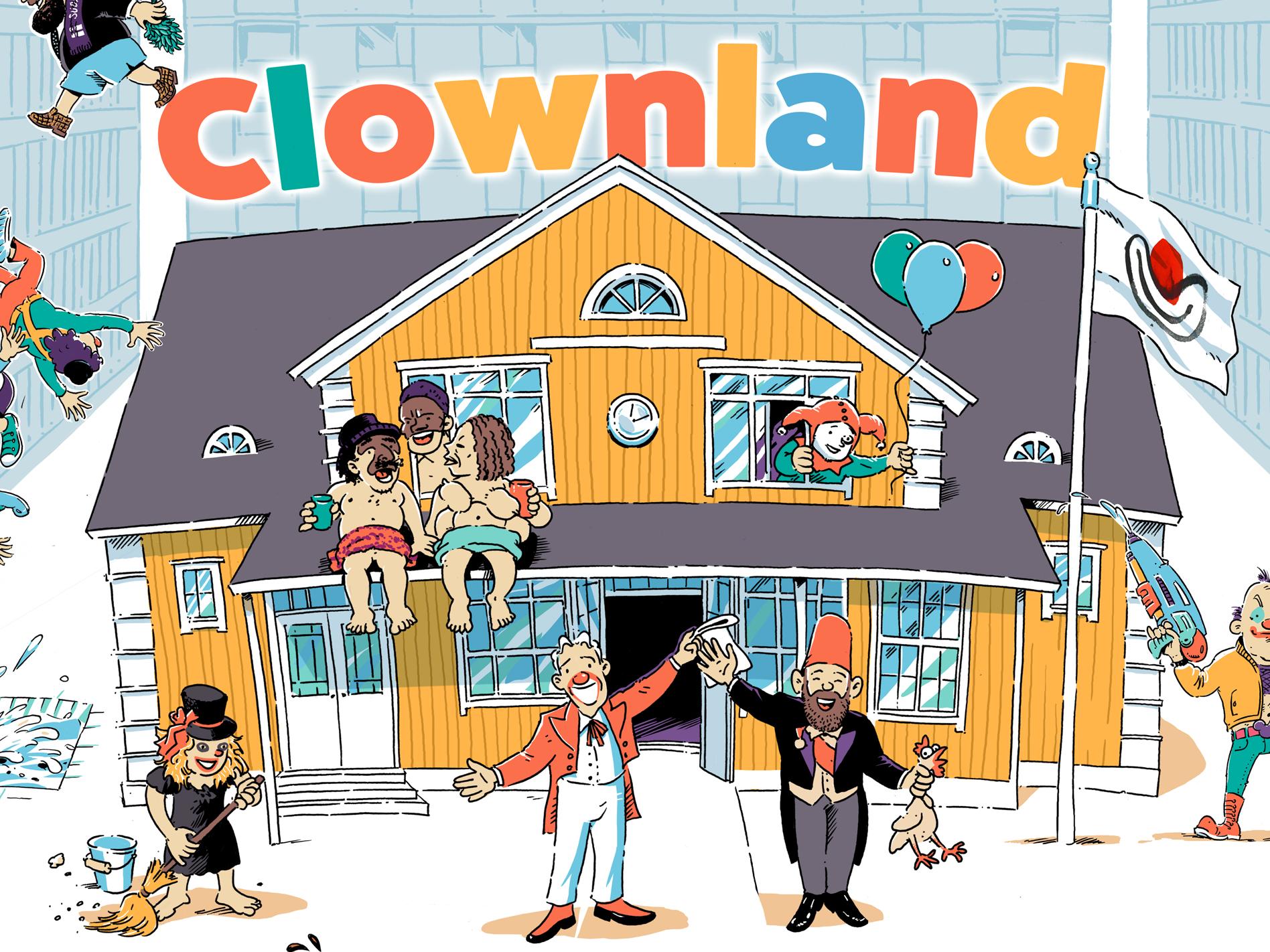 Radek karkulowski clownland