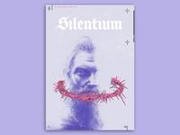 Silentium personal beard sielence poster
