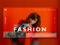 Fashion collection web UI