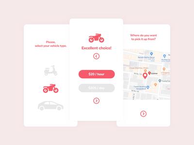 Vehicle Renting App
