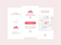 Vehicle Renting App
