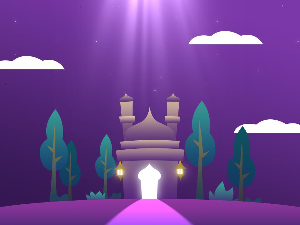 Ramadan 2019 vector trees green purple mosque month mercy islam fasting ramadan
