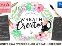 Universal Wreath Creator