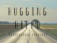 HUGGING HIPPO TYPEFACE