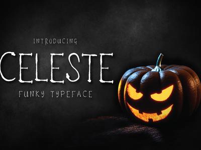 Celeste Funky Typeface