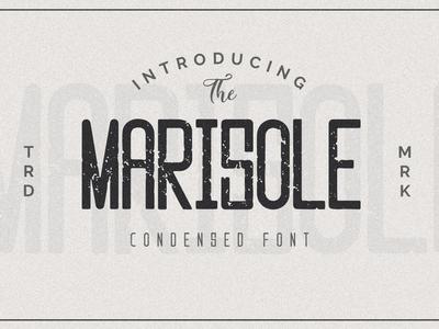 Marisole Condensed Font