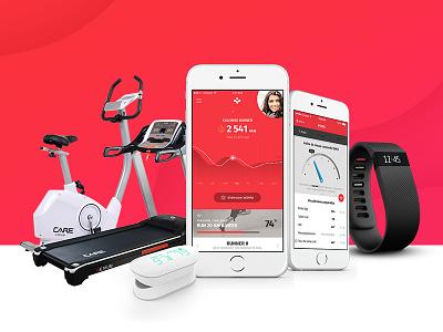 Biomouv Activity - Coming Soon running ux activity health app biomouv