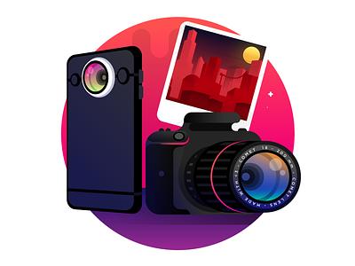 Cameras photos nikon canon reflex smartphone camera