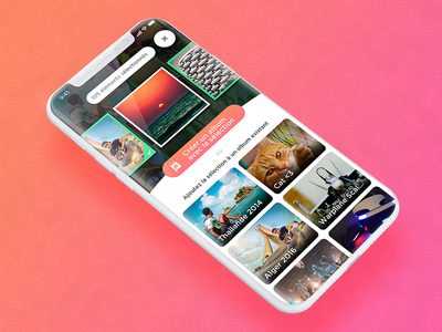 Zyl - A new way to manage your photos. ui ux graphic design app stack photo
