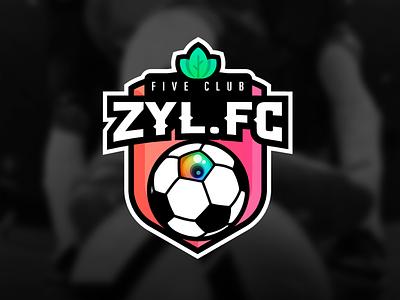 Zyl Football Club gaming logo zyl football