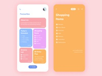 Simple Notes Making App - Ui design