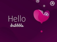 Hello Dribbble / Logo Winelove