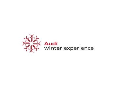 Audi winter experience / Logo and corporate design experience q7 snow red branding corporate design symbol winter identity logo audi itsvelestime