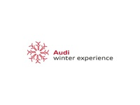 Audi winter experience / Logo and corporate design