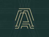 Dribbble artel holding logo 02