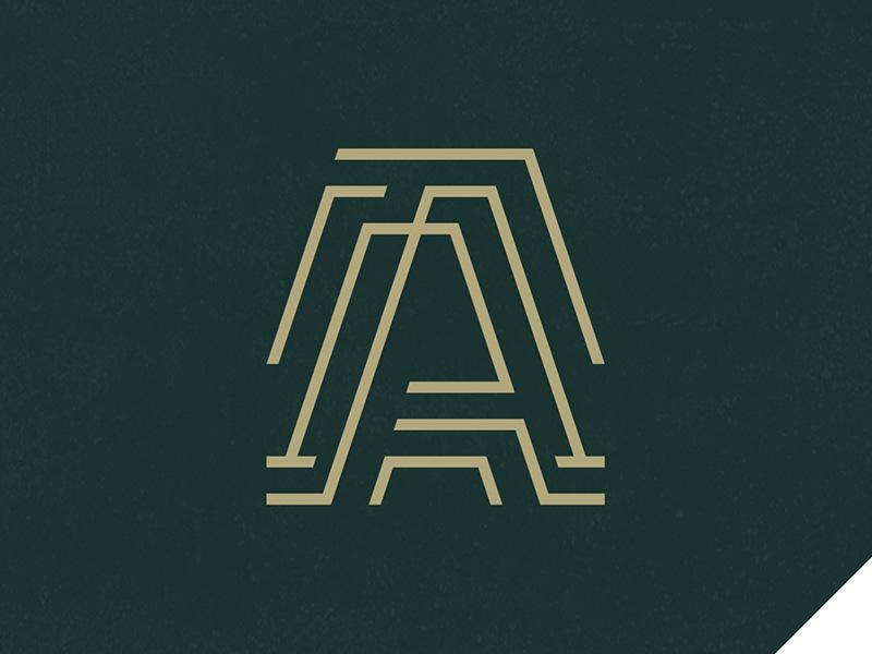 Dribbble artel holding logo 01