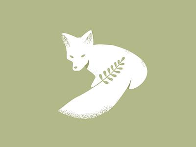 arcticfox animal minimal forest label arctic fox fox brand designer kids identity character design branding logo illustration