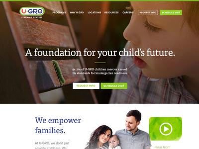 A foundation education green family preschool daycare kids children