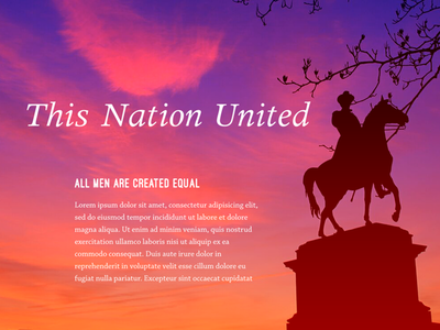 This Nation United history usa clouds color civil-war